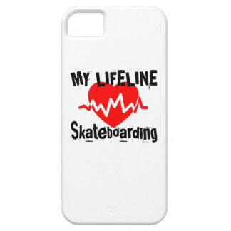 My Life Line Skateboarding Sports Designs iPhone 5 Case