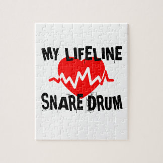 MY LIFE LINE SNARE DRUM MUSIC DESIGNS JIGSAW PUZZLE