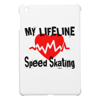 My Life Line Speed Skating Sports Designs Cover For The iPad Mini