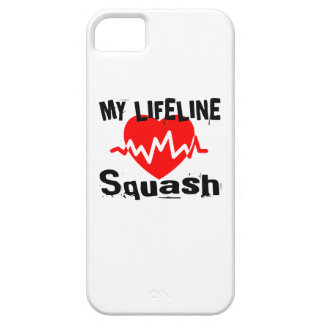 My Life Line Squash Sports Designs iPhone 5 Case