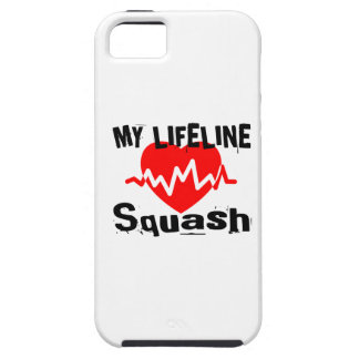 My Life Line Squash Sports Designs iPhone 5 Cases