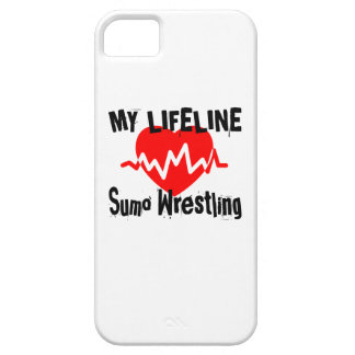 My Life Line Sumo Wrestling Sports Designs iPhone 5 Cover