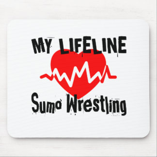 My Life Line Sumo Wrestling Sports Designs Mouse Pad