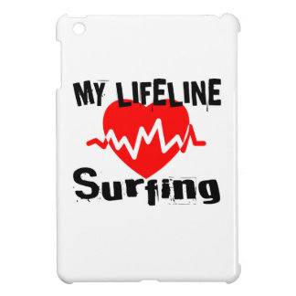 My Life Line Surfing Sports Designs iPad Mini Cases