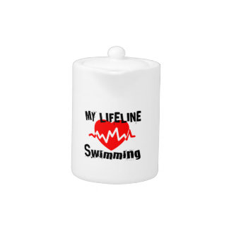 My Life Line Swimming Sports Designs