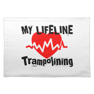 My Life Line Trampolining Sports Designs Placemat