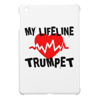 MY LIFE LINE TRUMPET MUSIC DESIGNS COVER FOR THE iPad MINI