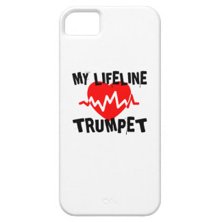 MY LIFE LINE TRUMPET MUSIC DESIGNS iPhone 5 CASE