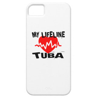 MY LIFE LINE TUBA MUSIC DESIGNS CASE FOR THE iPhone 5