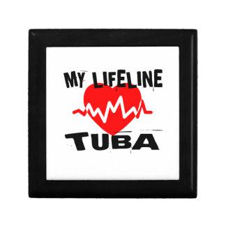 MY LIFE LINE TUBA MUSIC DESIGNS GIFT BOX
