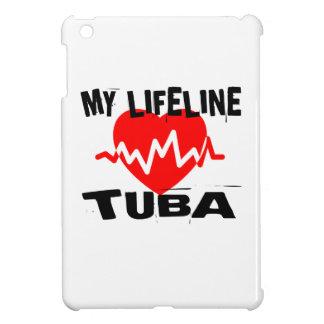 MY LIFE LINE TUBA MUSIC DESIGNS iPad MINI CASE