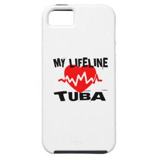 MY LIFE LINE TUBA MUSIC DESIGNS iPhone 5 CASE