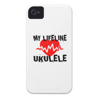 MY LIFE LINE UKULELE MUSIC DESIGNS Case-Mate iPhone 4 CASE