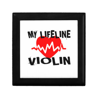 MY LIFE LINE VIOLIN MUSIC DESIGNS GIFT BOX