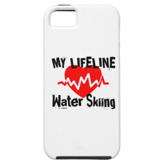 My Life Line Water Skiing Sports Designs iPhone 5 Cases