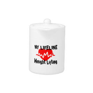 My Life Line Weight Lifting Sports Designs