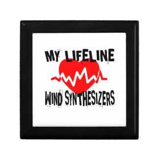 MY LIFE LINE WIND SYNTHESIZERS MUSIC DESIGNS GIFT BOX