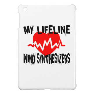 MY LIFE LINE WIND SYNTHESIZERS MUSIC DESIGNS iPad MINI CASES