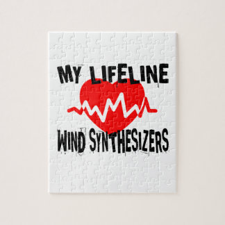 MY LIFE LINE WIND SYNTHESIZERS MUSIC DESIGNS JIGSAW PUZZLE