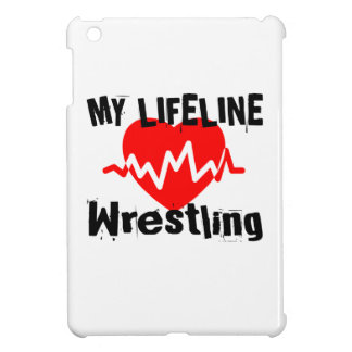 My Life Line Wrestling Sports Designs iPad Mini Cover