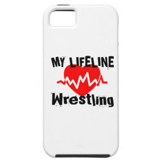 My Life Line Wrestling Sports Designs iPhone 5 Covers
