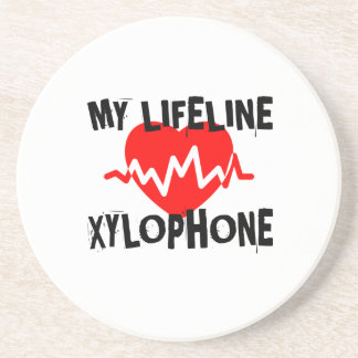 MY LIFE LINE XYLOPHONE MUSIC DESIGNS COASTER