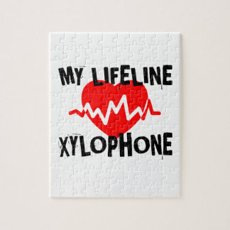 MY LIFE LINE XYLOPHONE MUSIC DESIGNS JIGSAW PUZZLE
