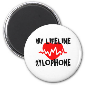 MY LIFE LINE XYLOPHONE MUSIC DESIGNS MAGNET