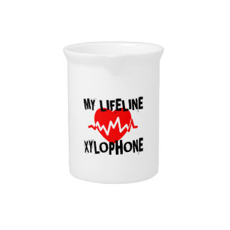 MY LIFE LINE XYLOPHONE MUSIC DESIGNS PITCHER