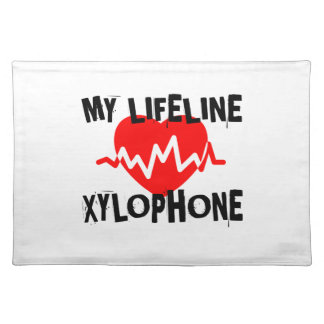 MY LIFE LINE XYLOPHONE MUSIC DESIGNS PLACEMAT