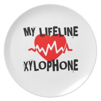 MY LIFE LINE XYLOPHONE MUSIC DESIGNS PLATE