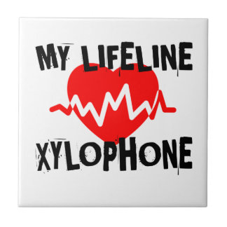 MY LIFE LINE XYLOPHONE MUSIC DESIGNS TILE