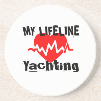 My Life Line Yachting Sports Designs Coaster