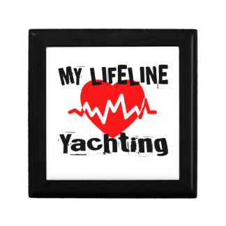 My Life Line Yachting Sports Designs Gift Box
