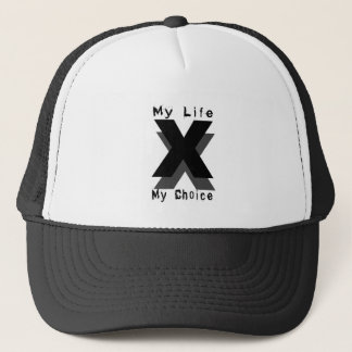my life my choice trucker hat