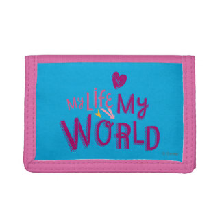 My Life My World 2 Trifold Wallet