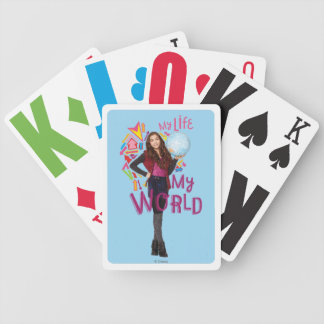 My Life My World Poker Deck
