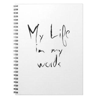 My life spiral notebook