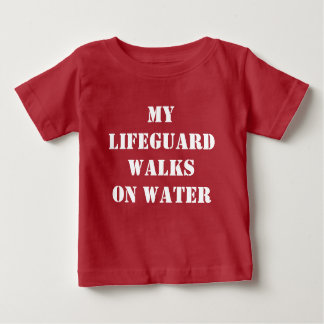 My lifeguard tee