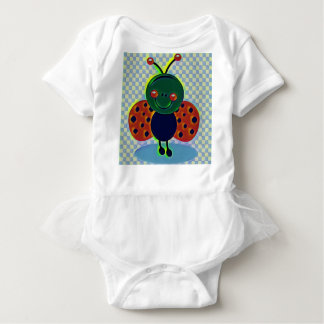 My lil lady bug baby bodysuit