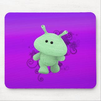 My Lil Martian Plushie Mousepad