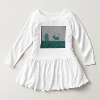 My lil Mouse for babies Street Art Dress