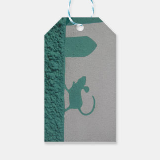 My lil Mouse Gift Tag Street Art Pack Of Gift Tags