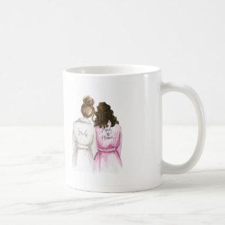 My Lil Sis Mug Br Bun Bride Br Curls M of Honour