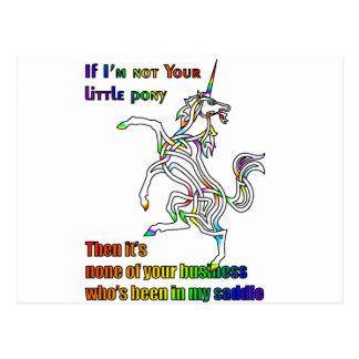 My Li'l Unicorn Postcard