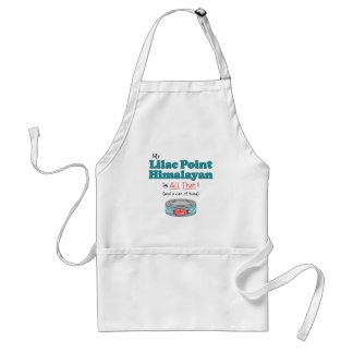 My Lilac Point Himalayan is All That! Funny Kitty Standard Apron