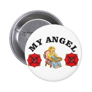 my little angel 2 inch round button