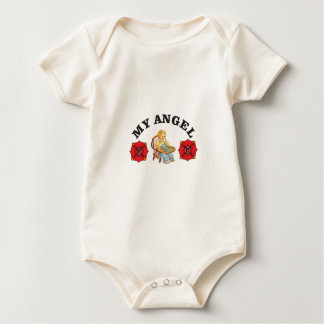 my little angel baby bodysuit