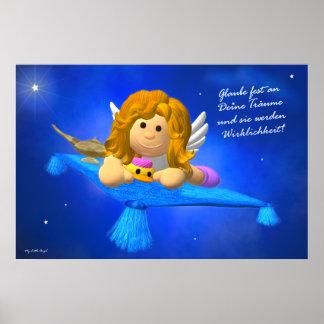 My Little Angel Glaube an deine Träume Posters