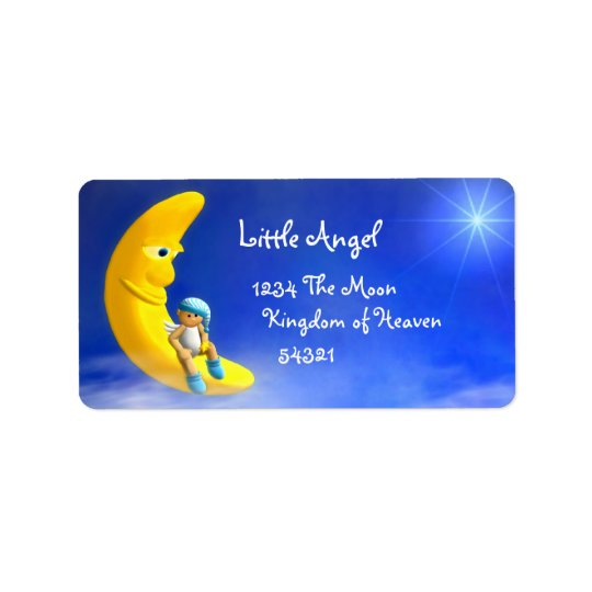 My Little Angel: Moon Labels